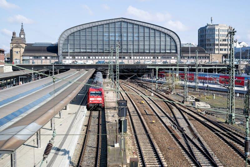 Hamburg Hauptbahnhof royalty free stock photos