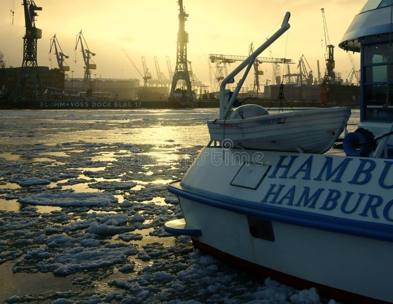 Hamburg-Kanal stockfotos