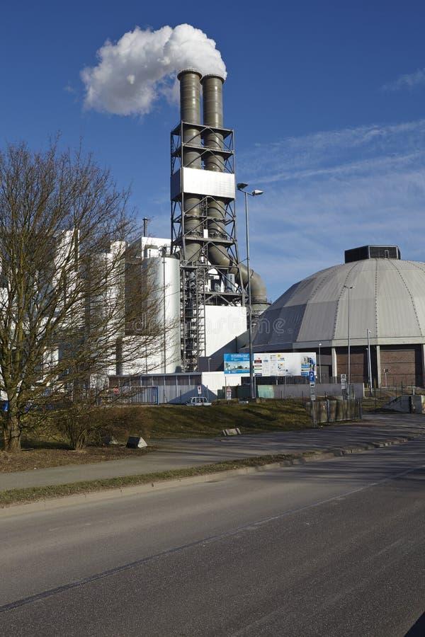 Hamburg - Kohleenergieanlage Moorburg lizenzfreie stockfotografie