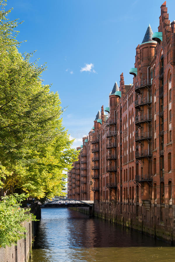Download Hamburg Landmark Speicherstadt Stock Image - Image: 34289765