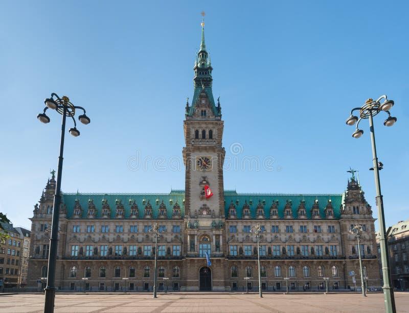 Download Hamburg landmark town hall stock photo. Image of hall - 34289942