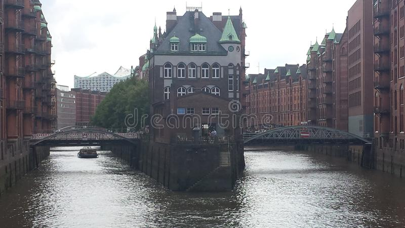 Hamburg Speicherstadt stock photography