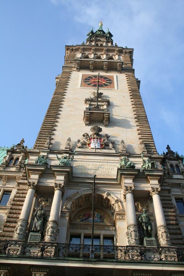 Hamburg-Stadt, Rathaus stockfotos