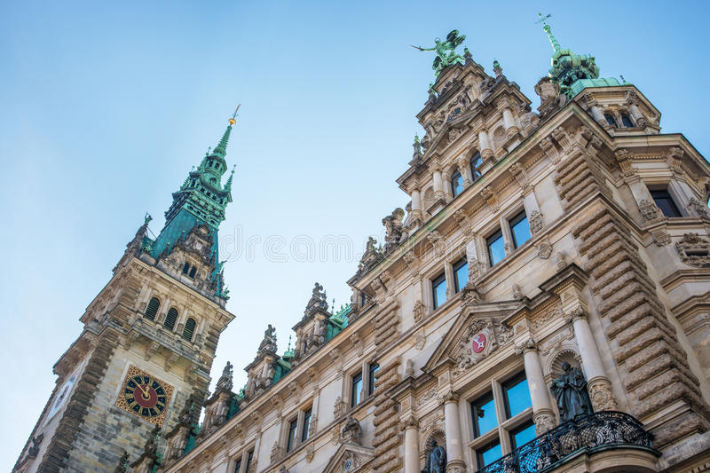 Download Hamburg tourism town hall stock image. Image of germany - 34289881