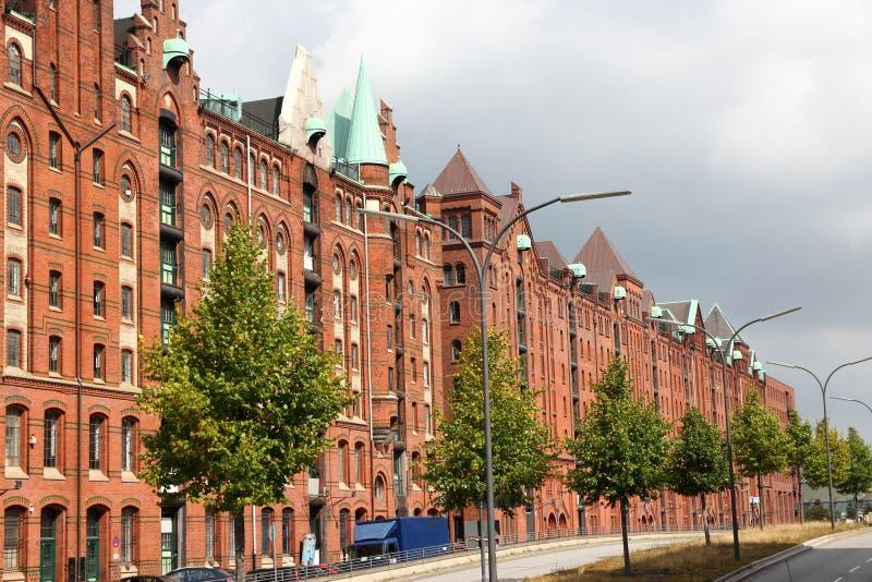 Hamburg, Tyskland royaltyfri bild