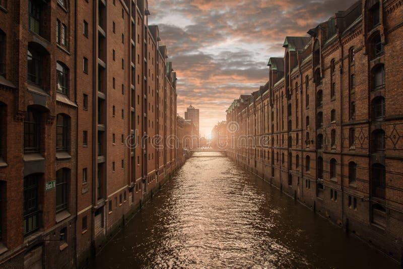 Hamburg, Tyskland royaltyfria bilder
