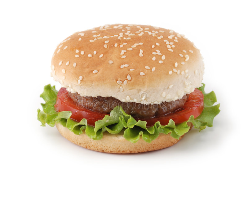 hamburgare arkivfoto