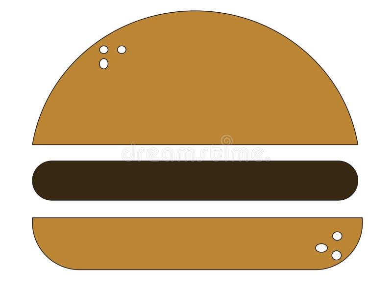 Hamburgerâ€- lizenzfreie stockfotos
