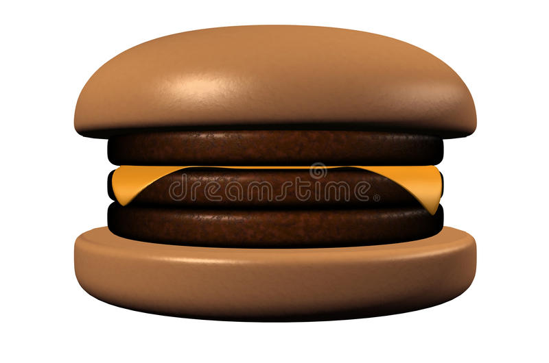 Hamburger illustration libre de droits