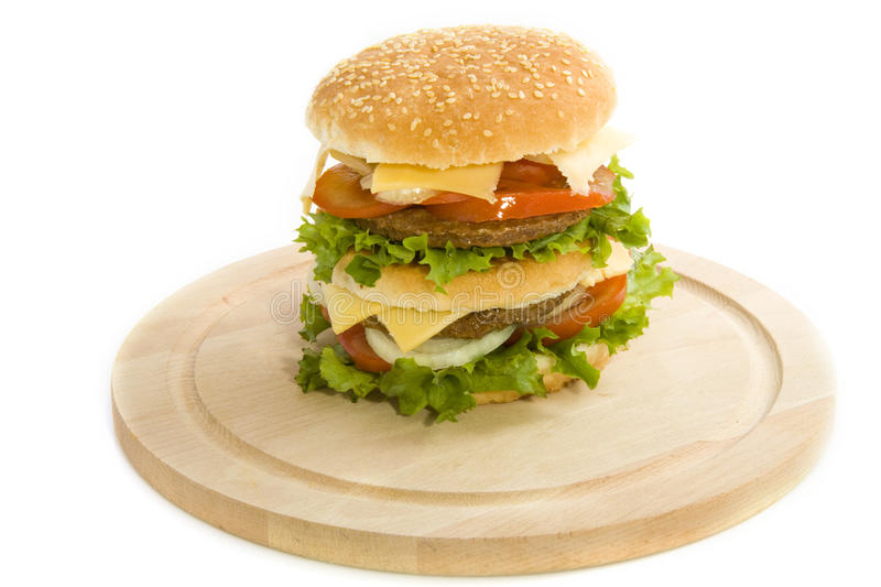 Download Hamburger stock image. Image of healthy, eating, dinner - 15141185