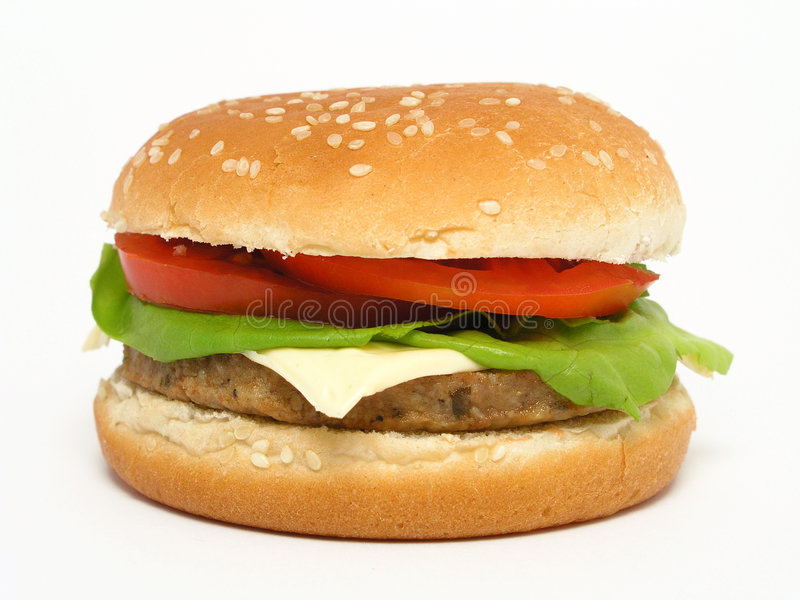 hamburger fotografia royalty free