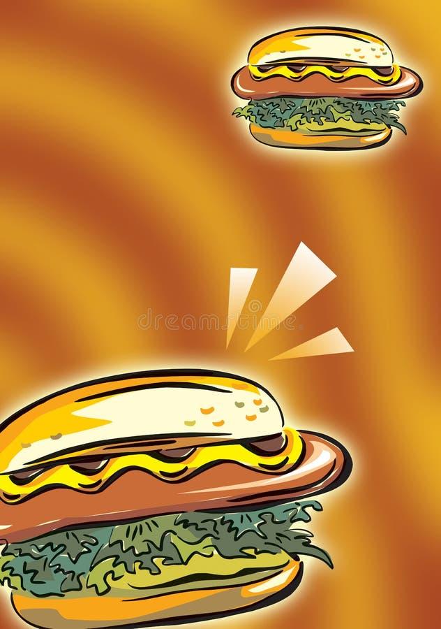 hamburger vector illustration