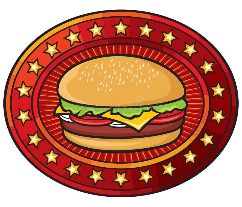 Hamburger ilustração royalty free