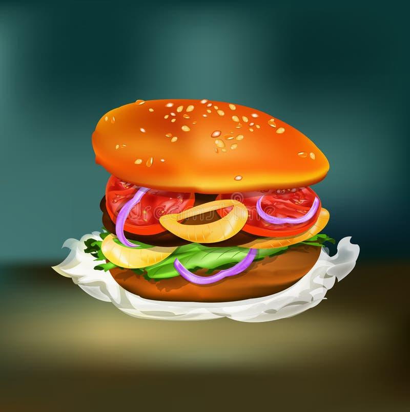 Free Hamburger Royalty Free Stock Images - 29105269