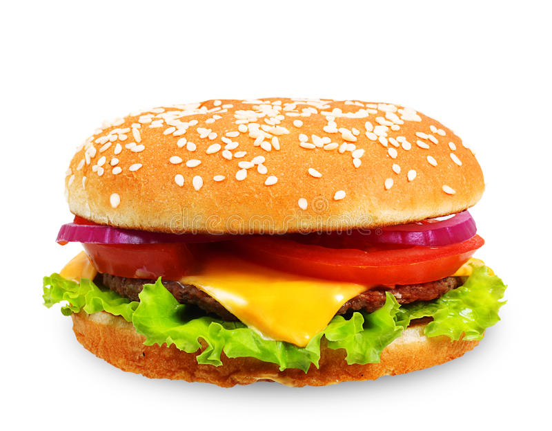 Hamburger. obraz stock