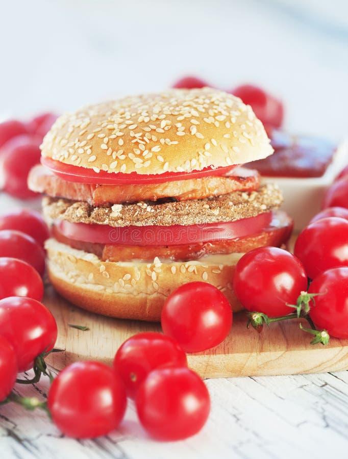 Hamburger fotografia de stock
