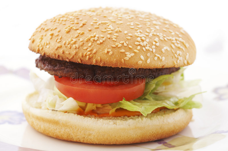 Hamburger stockbild
