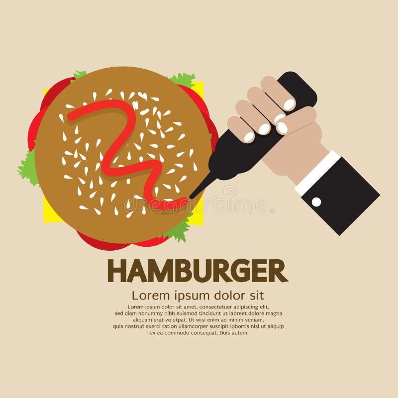 Hamburger vektor abbildung
