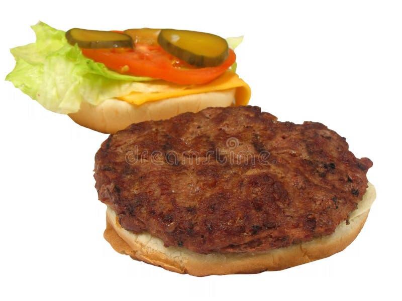 Download Hamburger 4 fotografia stock. Immagine di pomodoro, picnic - 212270