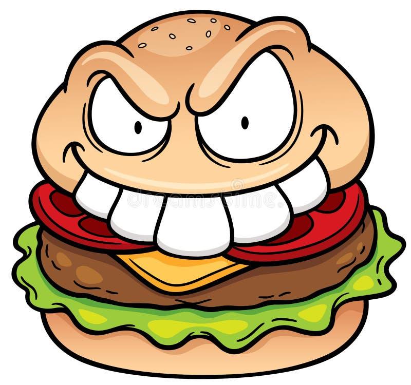 hamburger ilustracji