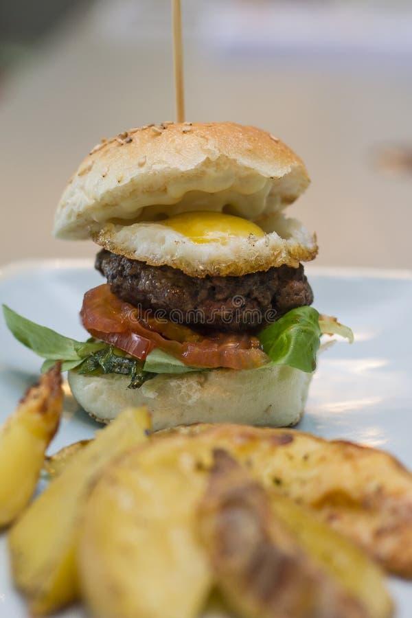 Hamburger1 stock afbeelding
