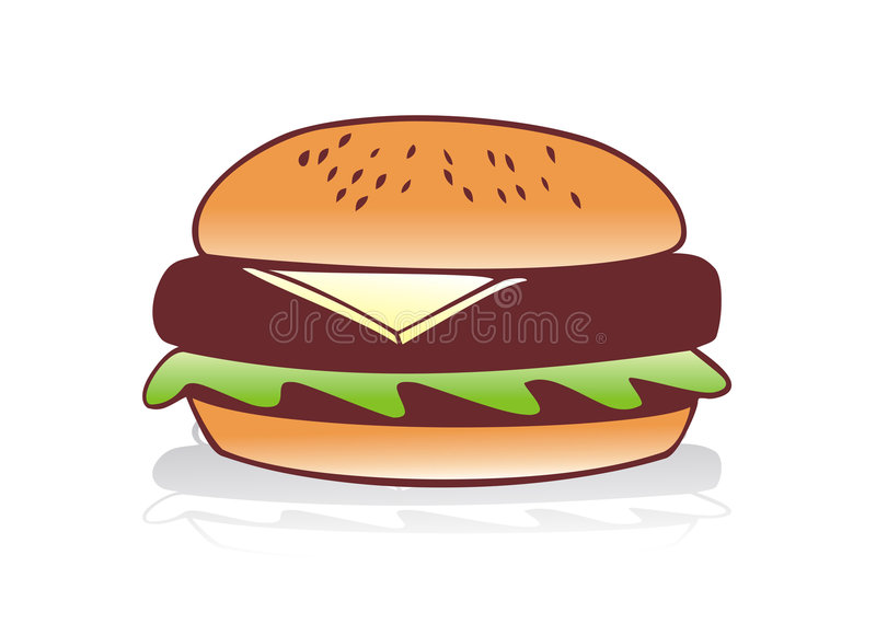 Hamburger vector illustratie
