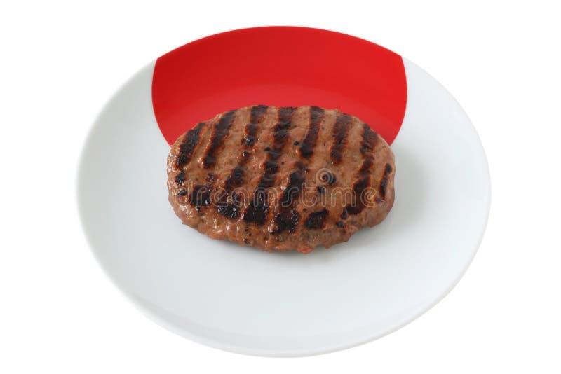 Hamburger cotto del tacchino immagini stock libere da diritti