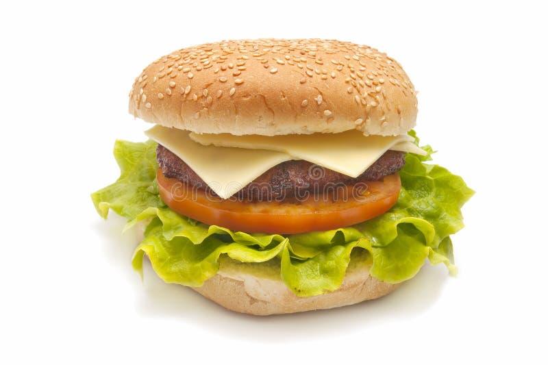 Hamburger cozido fotografia de stock royalty free