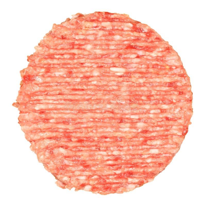 Hamburger cru photo stock