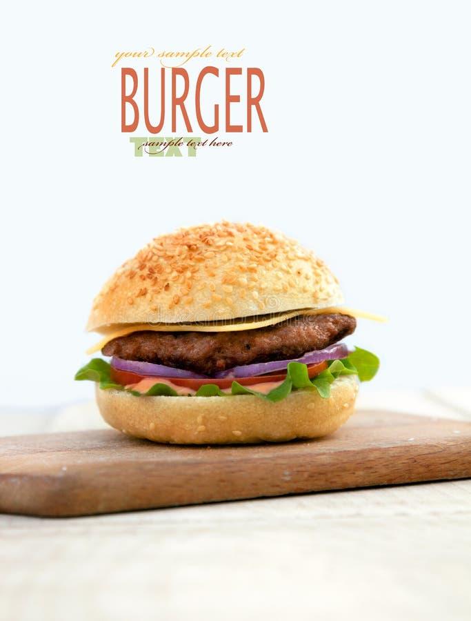 Hamburger délicieux images libres de droits