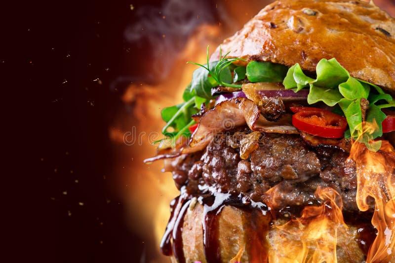Hamburger délicieux photographie stock