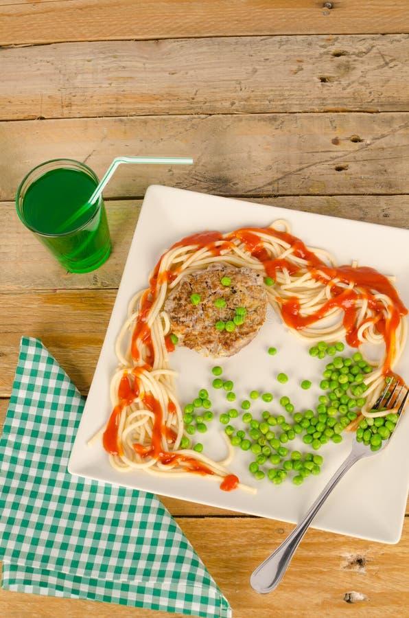 Hamburger d'enfant photo libre de droits