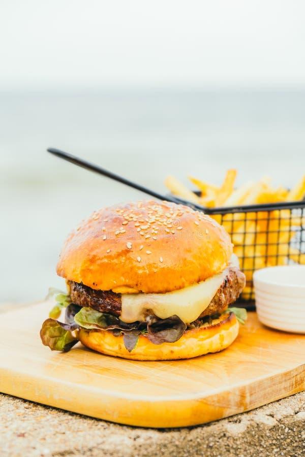 Hamburger del manzo immagine stock libera da diritti