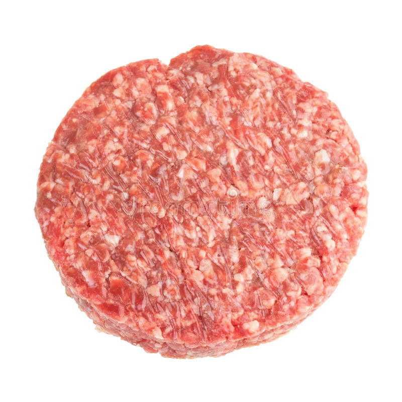 Hamburger del manzo immagine stock