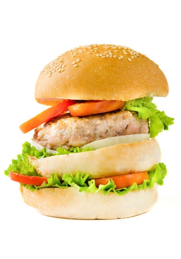 Hamburger di Lagre immagine stock libera da diritti