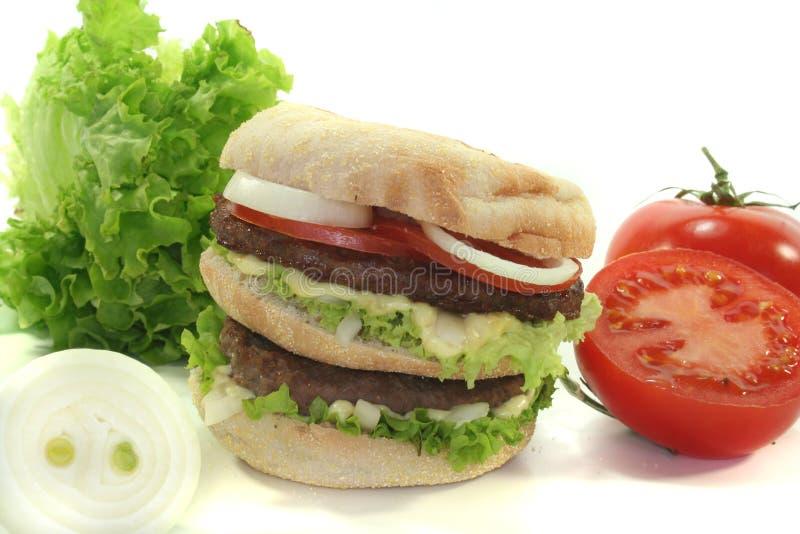 Hamburger dobro foto de stock royalty free