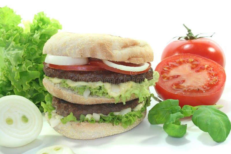 Hamburger dobro imagens de stock royalty free