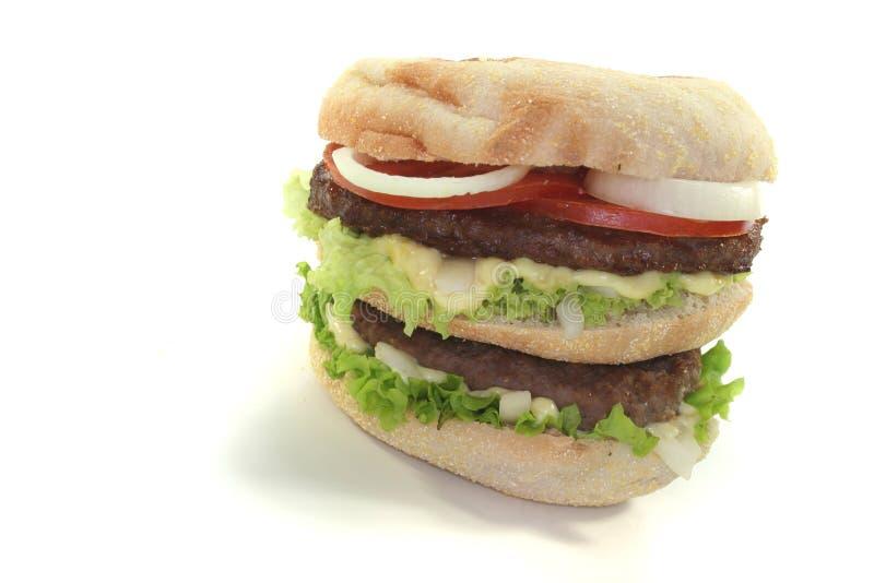 Hamburger dobro foto de stock