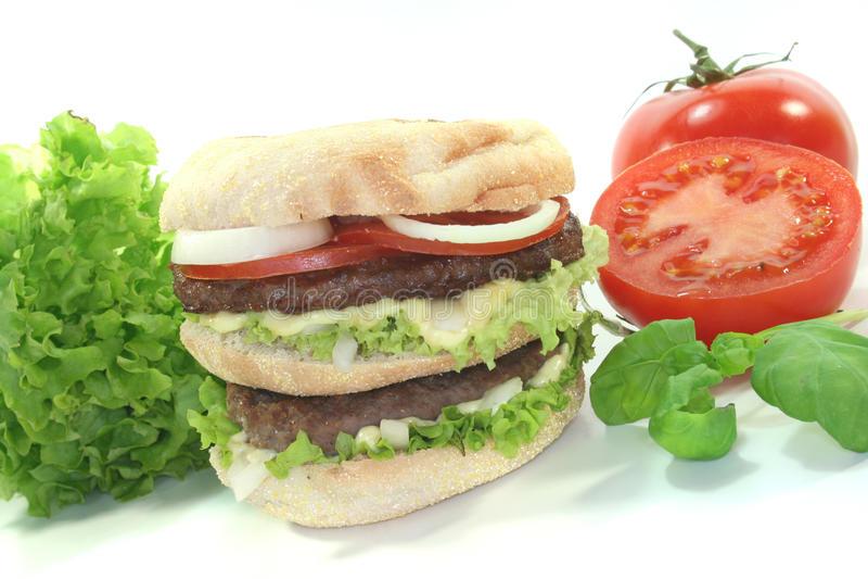 Hamburger dobro imagem de stock