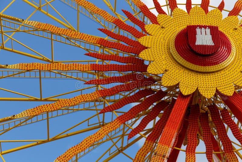 Download Hamburger Dom Ferris wheel stock photo. Image of observation - 30331852