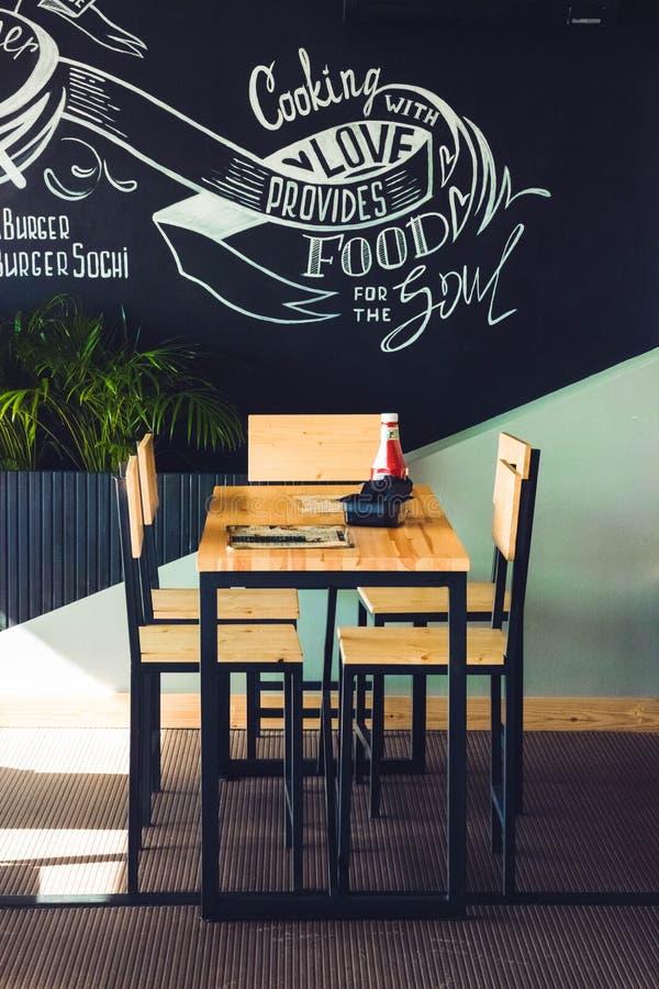 Hamburger et café images libres de droits