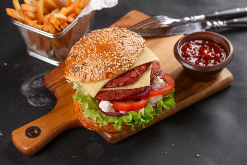 Hamburger frais photos libres de droits