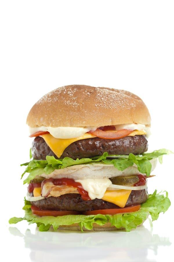 Hamburger grande imagens de stock