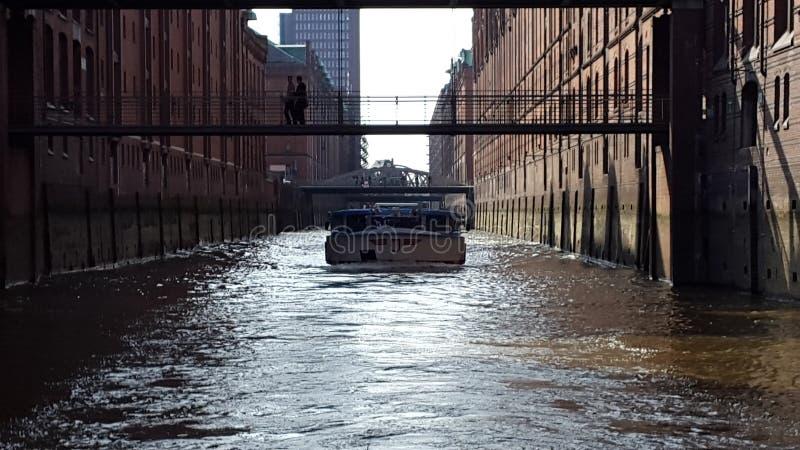 Hamburger Hafen royalty-vrije stock afbeelding
