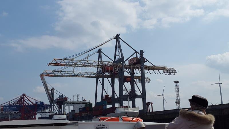 Hamburger Hafen royalty-vrije stock fotografie