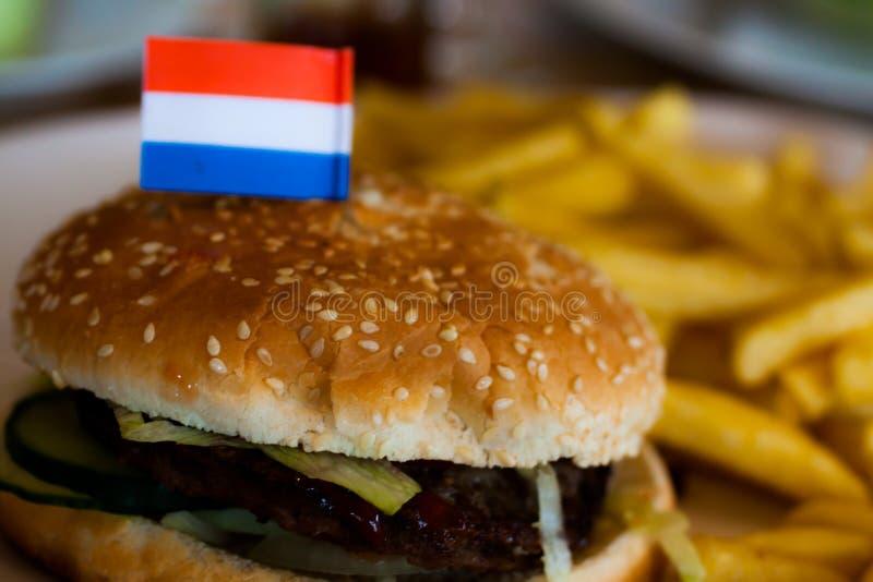 Hamburger Holland lizenzfreie stockfotos