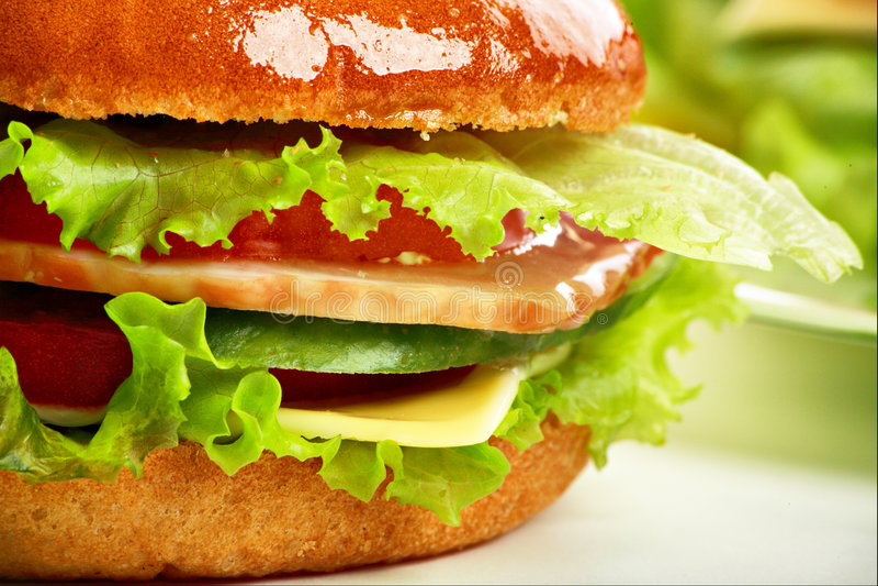 hamburger makro obrazy royalty free