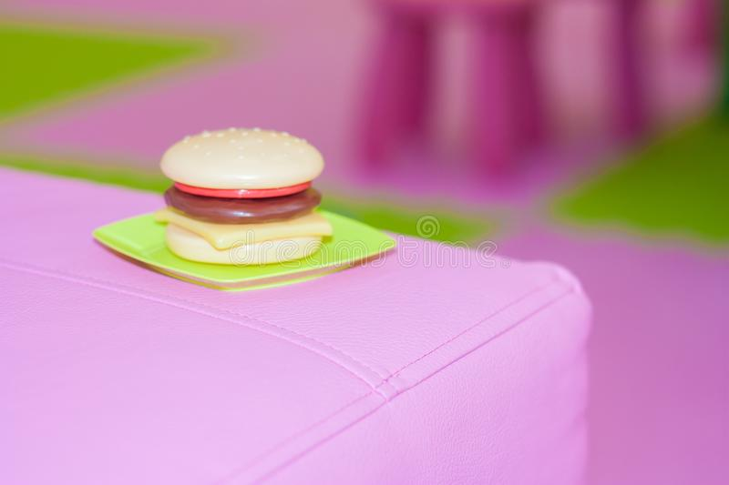 hamburger. malnutrition royalty free stock photos