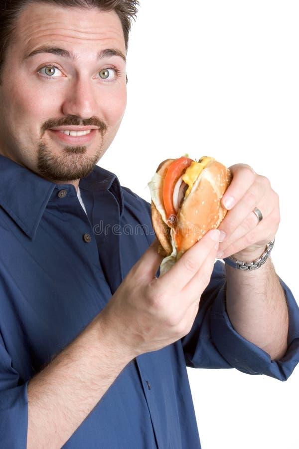 Hamburger mangeur d'hommes image libre de droits
