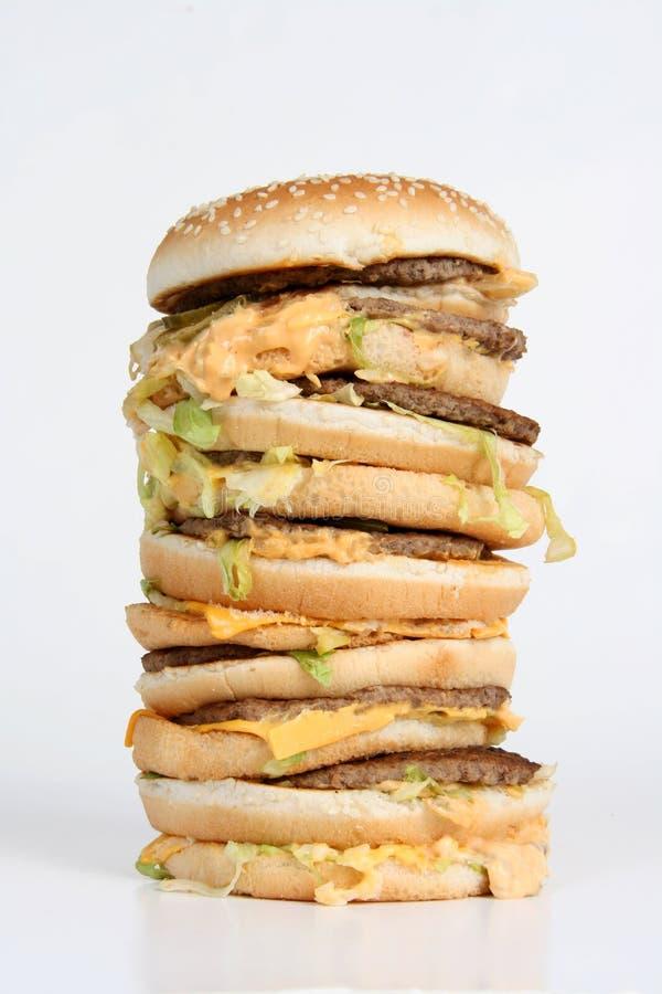 Hamburger massif photographie stock